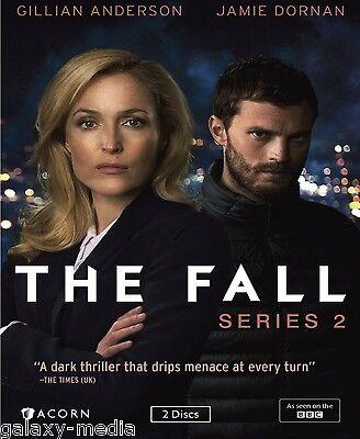 The Fall Second Season Series Two 2  2 Dvd  2016  Gillian Anderson  Jamie Dornan