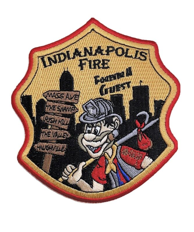 """Indianapolis Fire Department """"SUB"""" Forever A Guest Patch"""