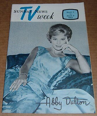 1963 Tv Guide Wgal Dance Aprty Lucille Ball Abc Head Tom Moore Ritts Puppets