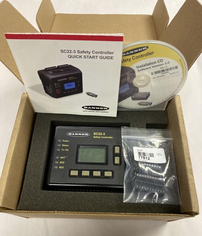 Banner 77914 SC22-3-SU1 Safety Controller, Memory Card CD Software Ver 3.0