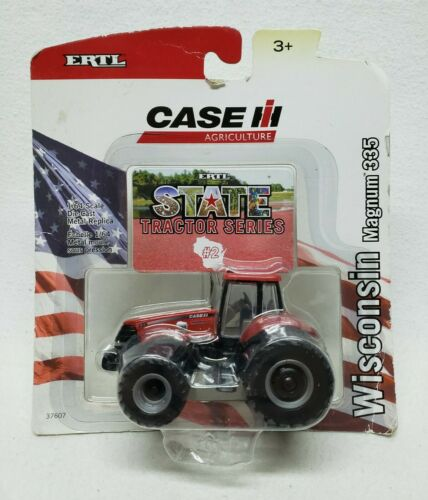 Case IH Magnum 335 #3 State Series Wisconsin Capital Chaser by Ertl 1/64th Scale