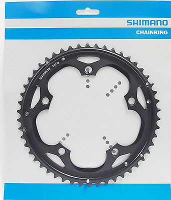 SHIMANO 105 5703-L 50T X 130MM 10-SPEED TRIPLE OUTER BLACK BICYCLE CHAINRING