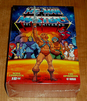 HE-MAN Y LOS MASTERS DEL UNIVERSO 18 DVD SERIE COMPLETA NUEVO (SIN ABRIR) A-B-C