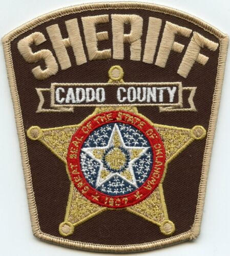 CADDO COUNTY OKLAHOMA OK SHERIFF POLICE PATCH