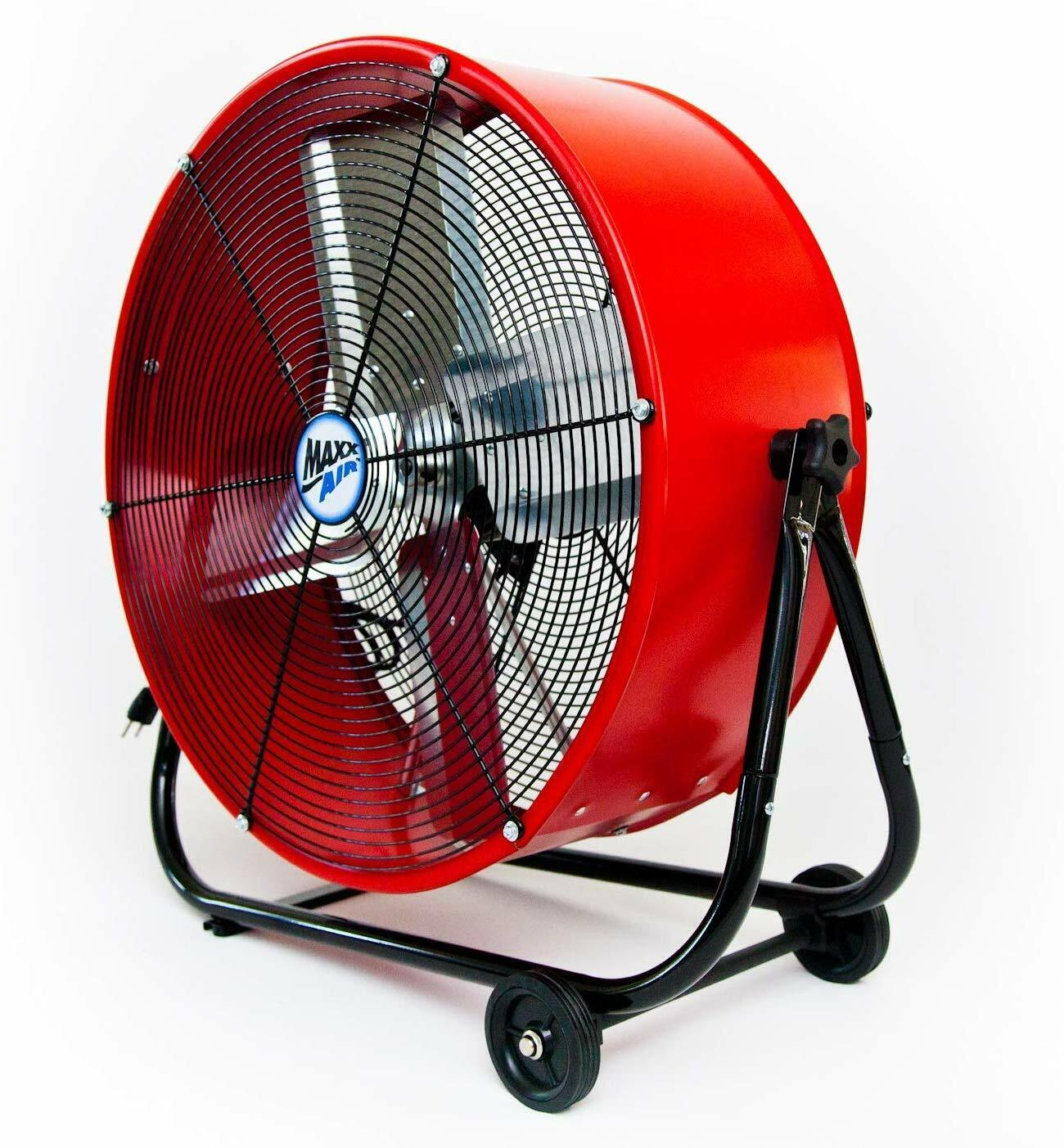 Industrial Shop Fan Portable High Power Rolling Tilt Floor G