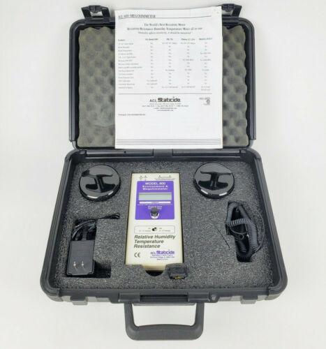 ACL Staticide ACL800 Megohmmeter Surface Resistance Test Kit