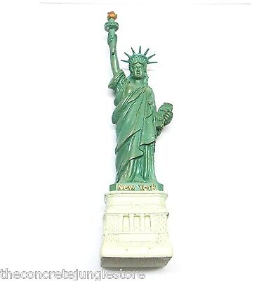 4 5  Statue Of Liberty Replica Figurine With Copper Tint  New York Souvenir