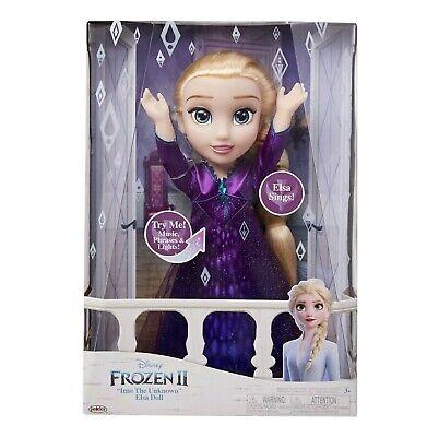 Disney Frozen 2 Elsa Musical Doll Sings 14 phrases / Brand NEW