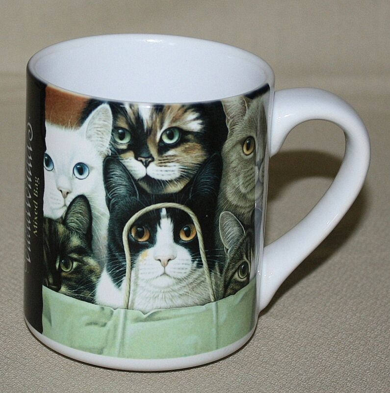 Cats Mug Braldt Bralds Mixed Bag Greenwich Workshop BraldtBralds