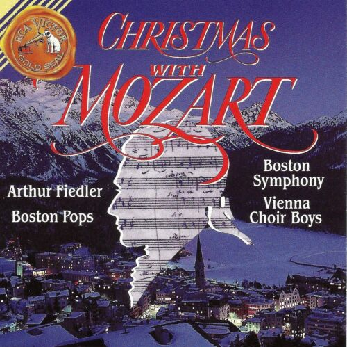 Christmas With Mozart (cd, Rca Victor).  New.