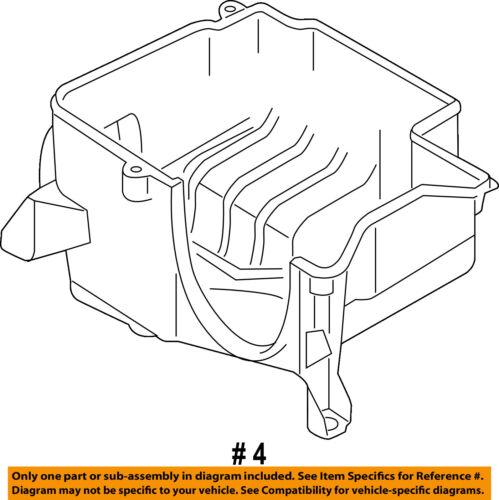 Audi Oem 14 15 R8 Air Cleaner Box Lower Bottom Housing Body Right