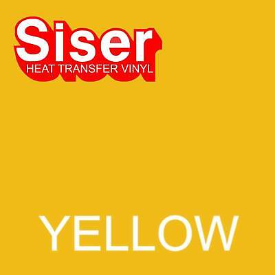 15 X 5 Ft Roll - Yellow - Siser Easyweed Heat Transfer Vinyl Iron On- Htv