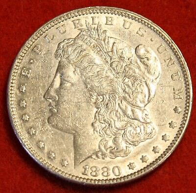 1880 P  1 Morgan Dollar 90  Silver Liberty Collector Coin Check Out Store Mg342