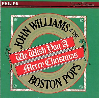 We Wish You a Merry Christmas by John Williams & The Boston Pops (CD, 1981, BMG) ()
