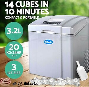 3.2L Portable Ice Cube Maker Machine Commercial Automatic Freezer Brisbane City Brisbane North West Preview