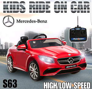 Newest Licensed mercedes benz S63 electric ride on car kids toy Ellenbrook Swan Area Preview