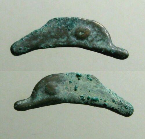Ancient Olbia Thrace, 5th - 4th century BC. Bronze Dolphin money