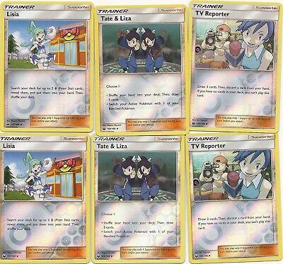 Tate /& Liza 148//168 Uncommon Sun /& Moon Celestial Storm Pokemon Card NM//M