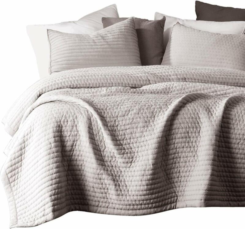 KASENTEX Quilt-Bedding-Coverlet-Blanket-Set, Machine Washabl