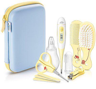 Philips Avent SCH400/00 Baby grooming care set kit brush Brand New Best