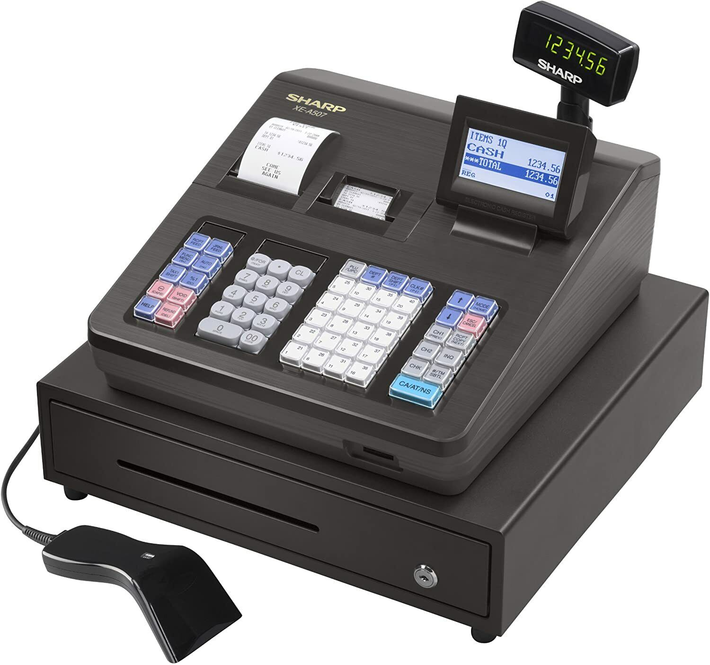 Sharp XEA507 Bar Code Scanning and Dual Receipt Cash Registe