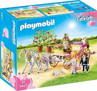 Playmobil 9427 Carroza Nupcial de Boda con Novios. Nuevo en caja.