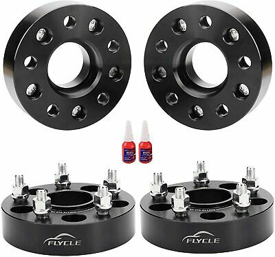 "4PK 5X4.75 WHEEL SPACERS 1.5"" THICK FOR CAMARO S-10 CORVETTE 12X1.5 38MM THICK"