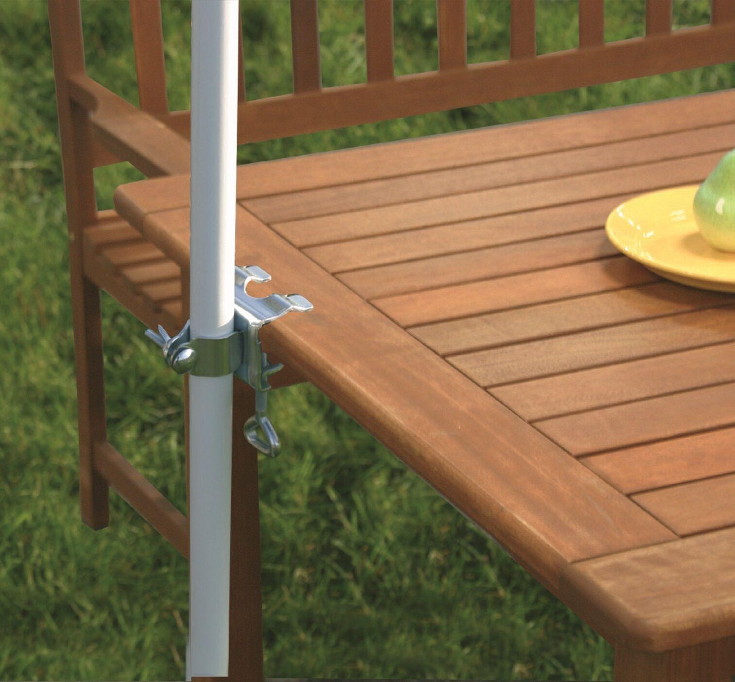 Tischklammer für Sonnenschirm Schirmklammer Halterung Halter