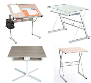 Computer Desk Pc Table Folding Home Office Furniture Fold