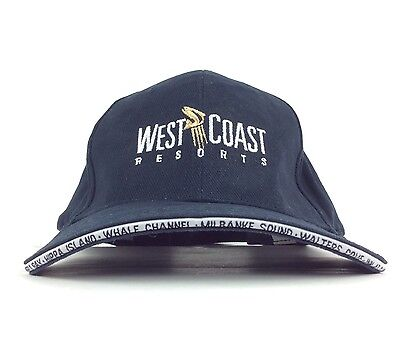 2012 West Coast Resorts Navy Blue Baseball Cap Hat Adj Adult Size Cotton