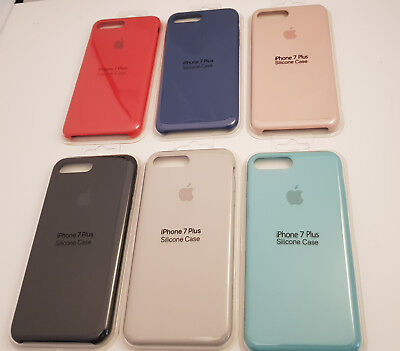 New Silicone Case For Apple iPhone X Xs Max 8 7 6S Plus Cover Retail Packaging