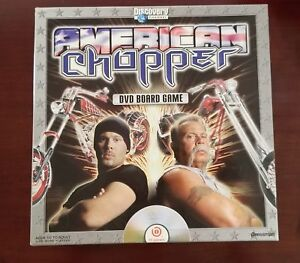 AMERICAN CHOPPER Game-DVD Board Game- In Great Condition