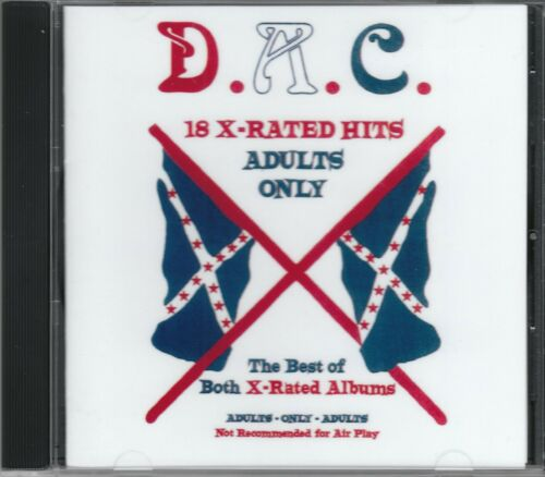 DAVID ALLAN COE 18 X Rated Hits Underground CD allen NEW Sealed