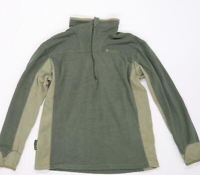 Mountain Warehouse Mens Green Camouflage Fleece Jacket Coat Size M