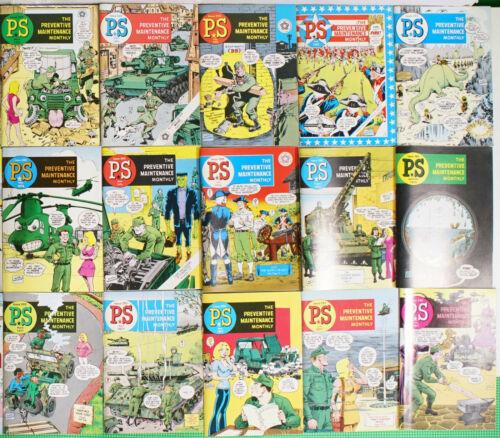 Lot of 43 PS Preventive Maintenance Monthly 1973-78 Comics Magazine Will Eisner