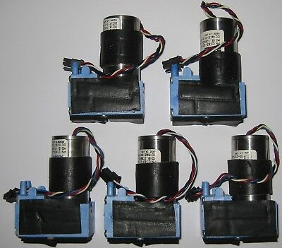5 X Mini Diaphragm Single Head Air And Gas Hargraves Pump - 6 Lmin - 12 V Dc