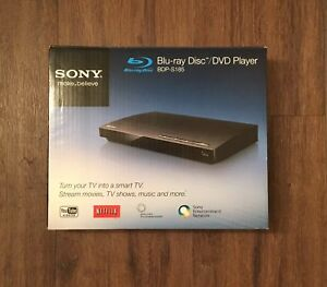 SONY Blu-Ray DVD disc player BDP S185
