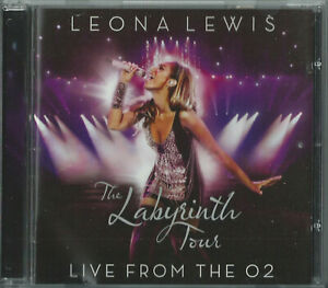 LEONA LEWIS - THE LABYRINTH TOUR (LIVE FROM THE O2) 2010 EU CD/DVD HAPPY RUN