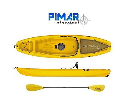 PIMAR - kayak - canoa da 266 cm + 1 gavone + 1 pagaia + 1 seggiolino sport