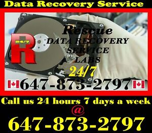 24/7 Data Rescue Labs NO DATA NO CHARGE  (647) 873-2797