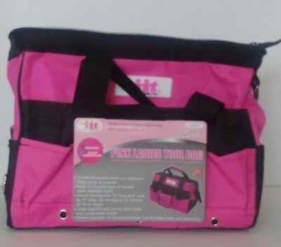 PINK LADIES TOOL BAG, 12 inch, STORING & ORGANIZING - Pink Tool Bag