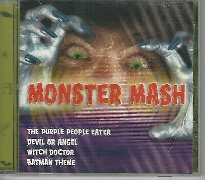 Halloween Music Themes (Music CD Monster Mash Halloween Themed)