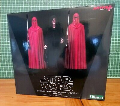 Kotobukiya Star Wars 1/10 Emperor Palpatine & The Royal Guards