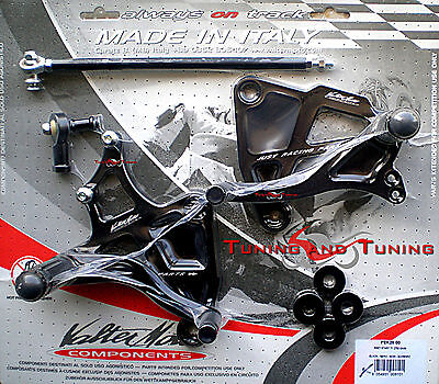 REARSETS VALTERMOTO TYPE 1 FOR KAWASAKI Z750 Z 750 2003-2004-2005-2006  (PEK28) for sale  Shipping to Ireland