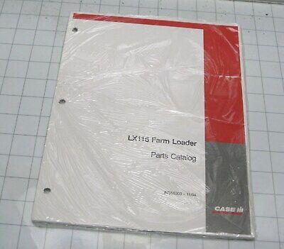 Case Ih Parts Manual Compact Tractor Farm Loader Lx116 Parts Catalog