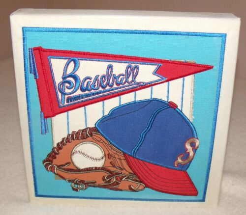 baseball wall hanging for childs room