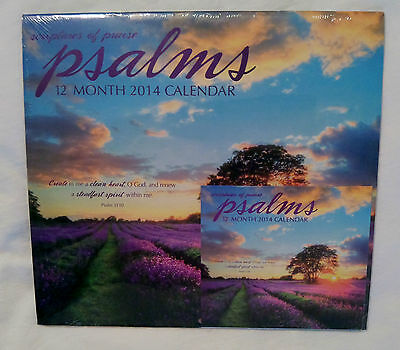 Scriptures Of Praise Psalms12 Month 2014 Calendar And Mini Calendar Set