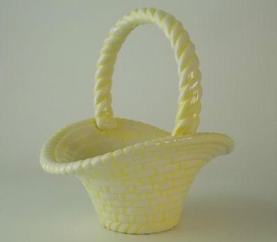 Handcrafted Ceramic Baskets (1974 HANDCRAFTED CERAMIC BASKET; SIGNED BY ARTIST JW)