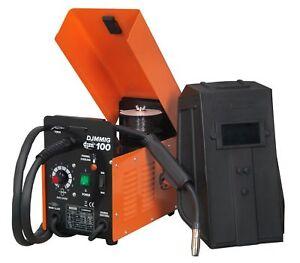 New Djm 100Amp No Gas / Gasless Mighty Mig Welder + Flux Wire, Tip 100 amp