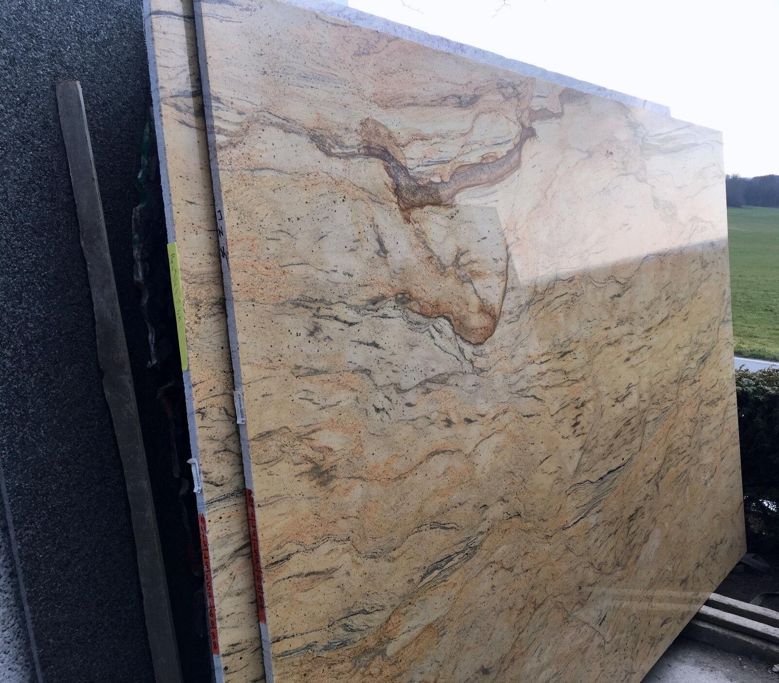 naturstein beige f r fensterbank tischplatte arbeitsplatte k che abdeckung stein eur 164 99. Black Bedroom Furniture Sets. Home Design Ideas